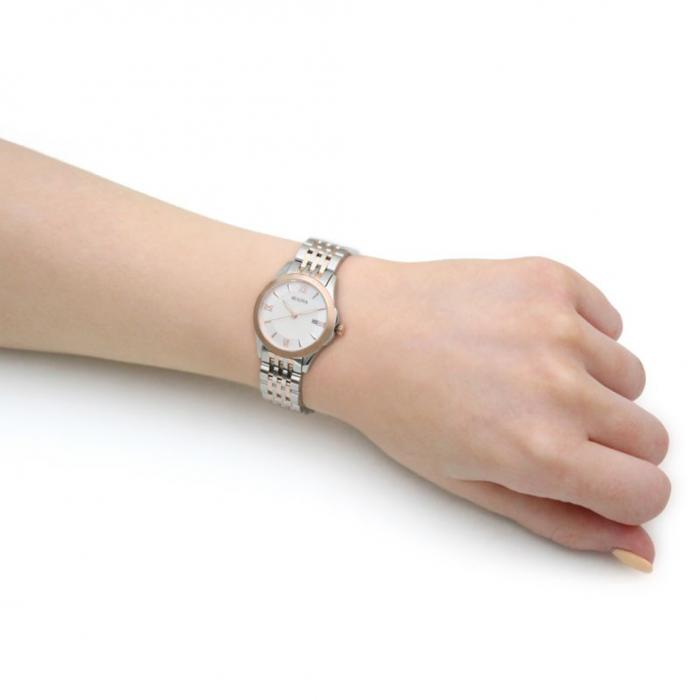 SKU-50543 / BULOVA Classic Two Tone Stainless Steel Bracelet