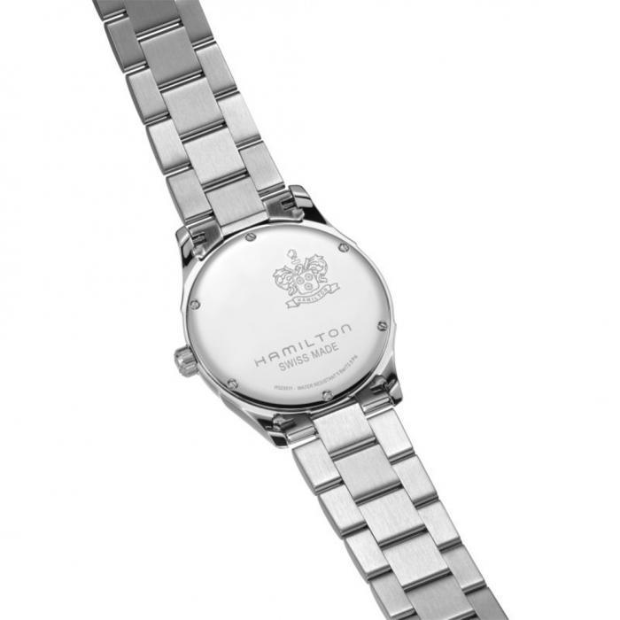 SKU-50552 / HAMILTON Jazzmaster Silver Stainless Steel Bracelet