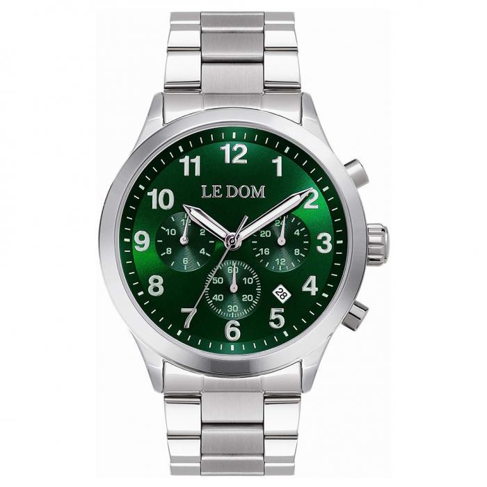 SKU-50699 / LE DOM Patrol Silver Stainless Steel Bracelet