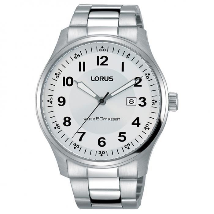 SKU-50563 / LORUS Classic Silver Stainless Steel Bracelet