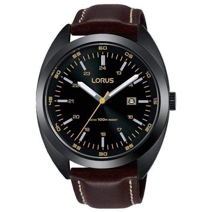 SKU-50603 / LORUS Sports Brown Leather Strap