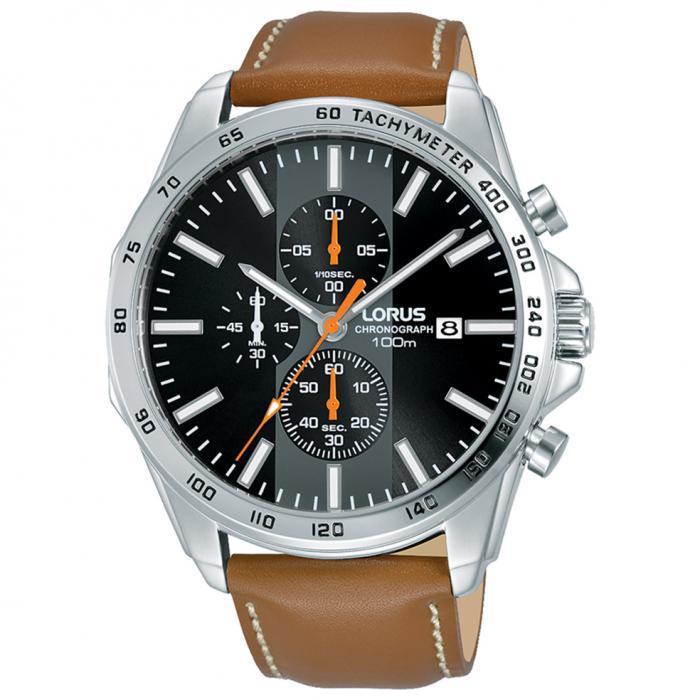SKU-50606 / LORUS Sports Brown Leather Strap