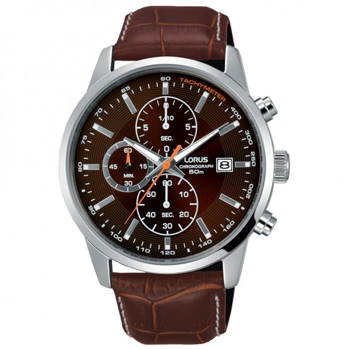 SKU-50614 / LORUS Sports Brown Leather Strap