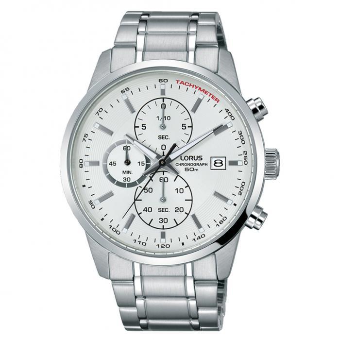 SKU-50577 / LORUS Sports Silver Stainless Steel Bracelet