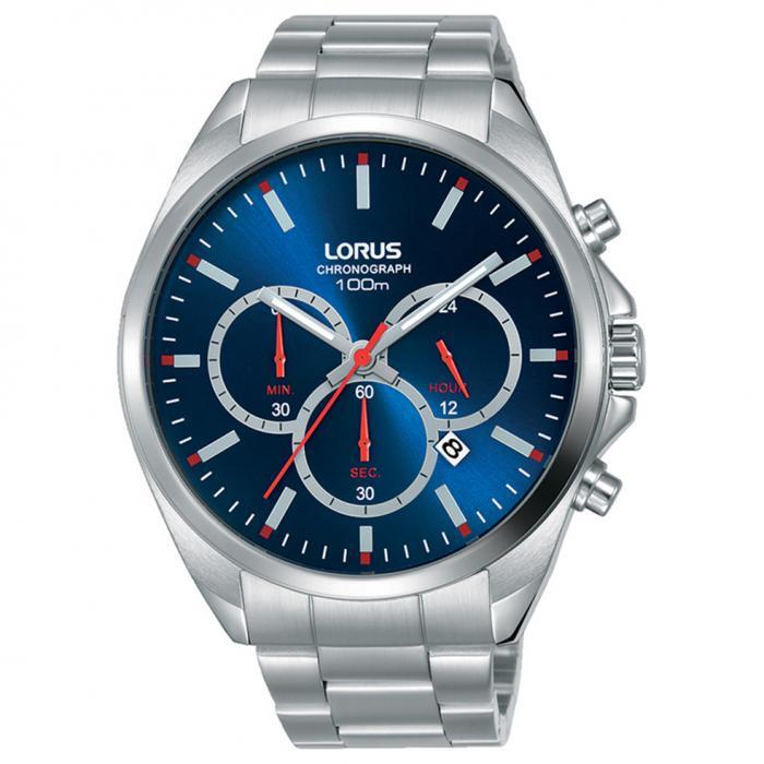 SKU-50589 / LORUS Sports Silver Stainless Steel Bracelet