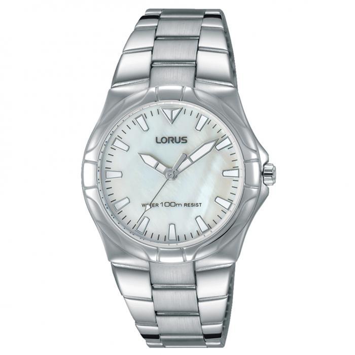 SKU-50634 / LORUS Sports Silver Stainless Steel Bracelet