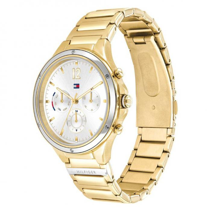 TOMMY HILFIGER Eve Crystals Two Tone Stainless Steel Bracelet