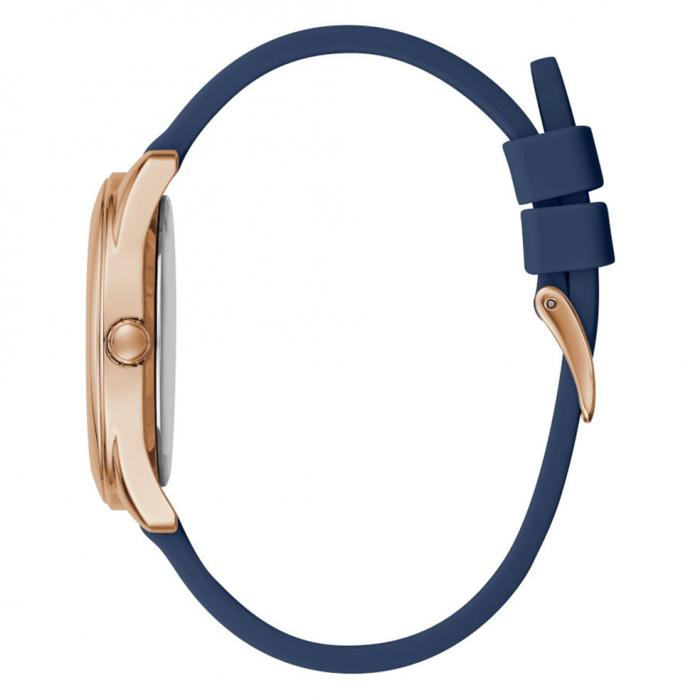 GUESS Peony G Blue Rubber Strap