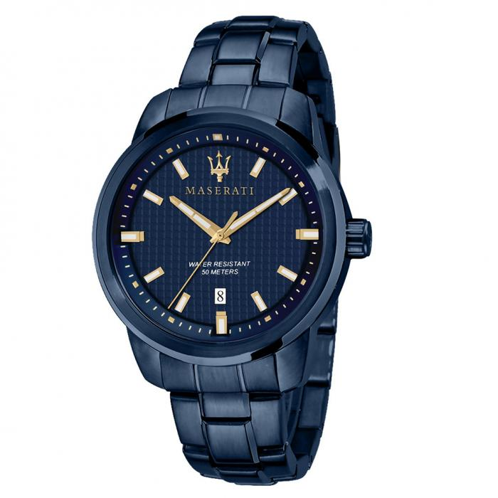 SKU-51471 / MASERATI Blue Edition Blue Stainless Steel Bracelet