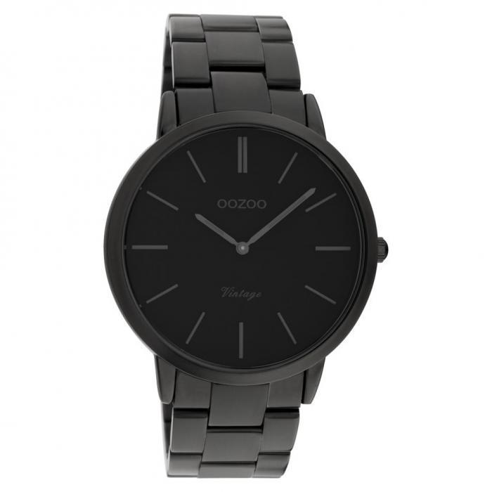 SKU-51455 / OOZOO Vintage Black Stainless Steel Bracelet