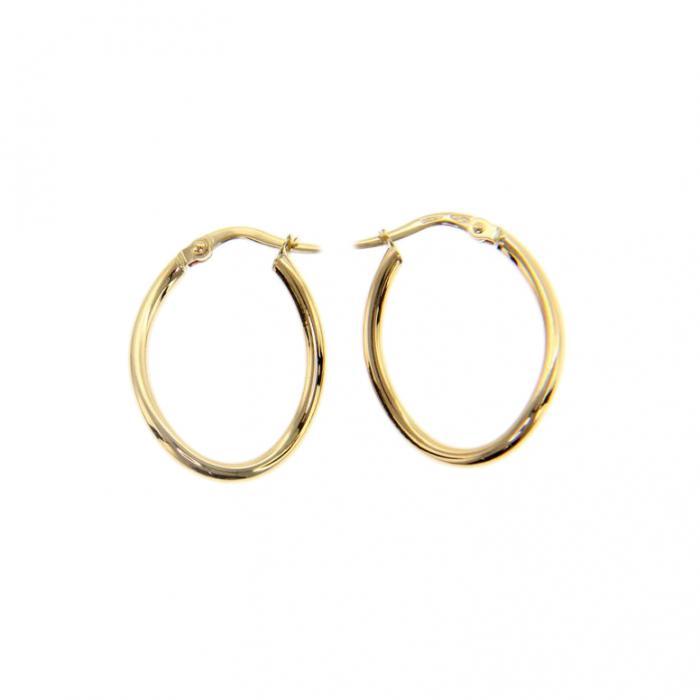 SKU-51636 / Σκουλαρίκια Κρίκοι Χρυσός Κ9