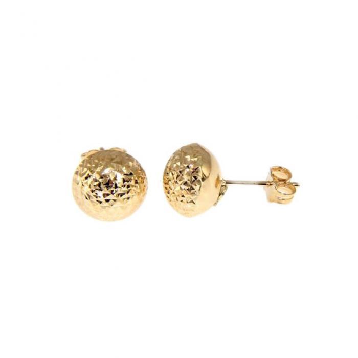SKU-51562 / Σκουλαρίκια Καρφωτά Χρυσός Κ9