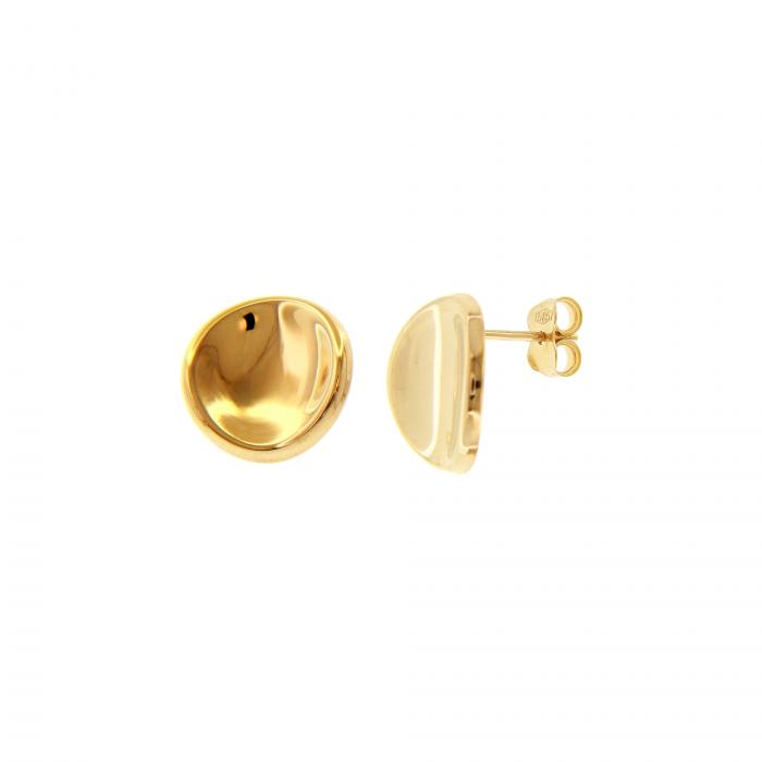 SKU-51668 / Σκουλαρίκια Καρφωτά Χρυσός Κ14