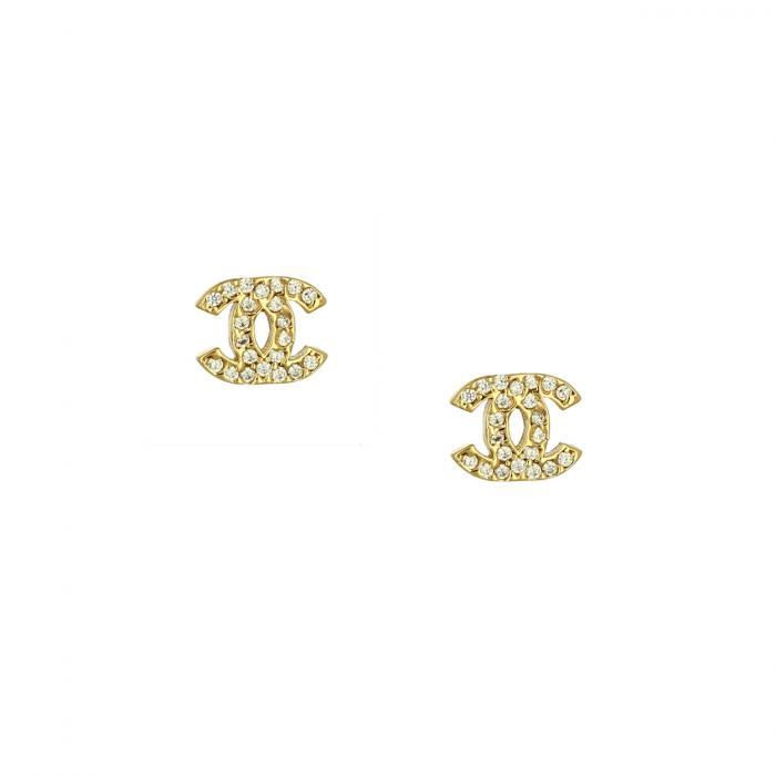 SKU-51742 /  Σκουλαρίκια Χρυσός Κ14 με Ζιργκόν