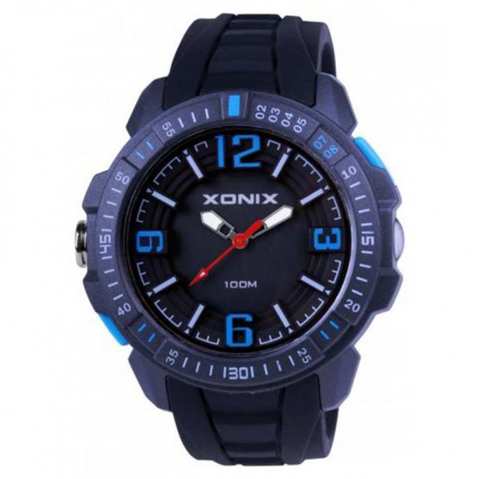 SKU-51412 / XONIX Black Silicone Strap