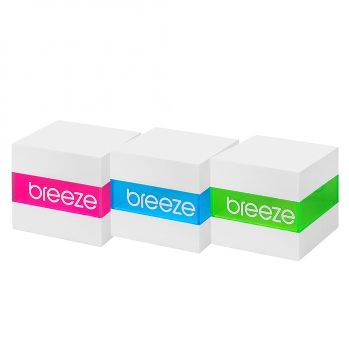 SKU-52617 / BREEZE MantaRay Crystals Two Tone Stainless Steel Bracelet