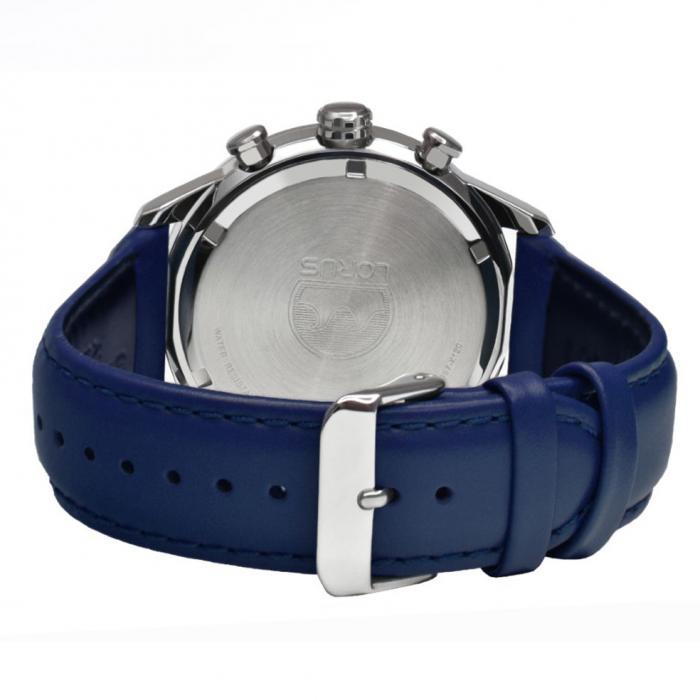 SKU-52739 / LORUS Sports Blue Leather Strap