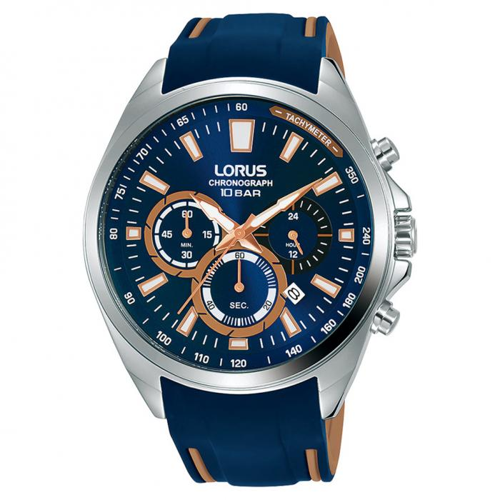 SKU-52762 / LORUS Sports Blue Silicone Strap