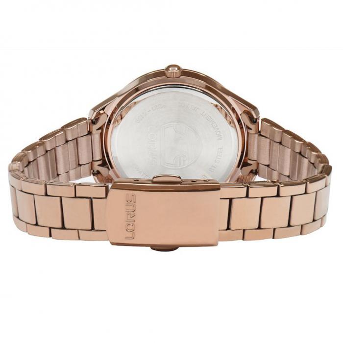 SKU-52774 / LORUS Classic Rose Gold Stainless Steel Bracelet