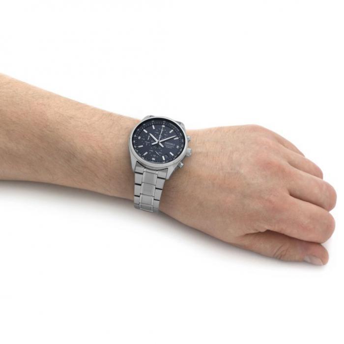 SKU-52733 / SEIKO Conceptual Chronograph Silver Stainless Steel Bracelet