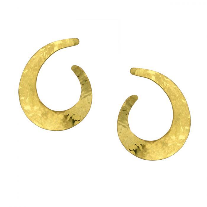 SKU-52314 / Σκουλαρίκια Κρεμαστά Χρυσός Κ14