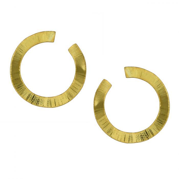 SKU-52315 / Σκουλαρίκια Κρεμαστά Χρυσός Κ14