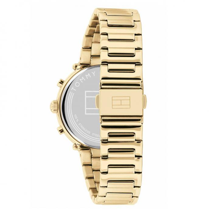 SKU-52283 / TOMMY HILFIGER Emery Gold Stainless Steel Bracelet