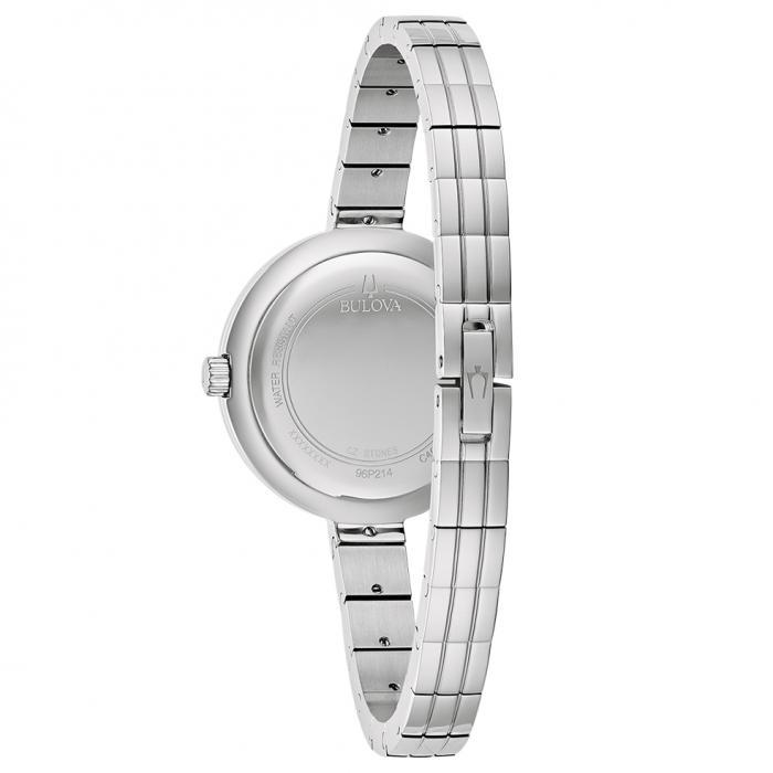 SKU-53548 / BULOVA Diamond Collection Rhapsody Silver Stainless Steel Bracelet