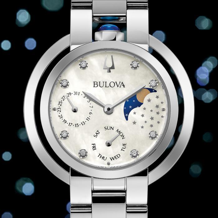 SKU-53547 / BULOVA Diamonds Rubaiyat Stainless Steel Bracelet