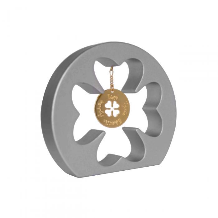 SKU-53150 / Διακοσμητικό Γούρι Τριφύλλι