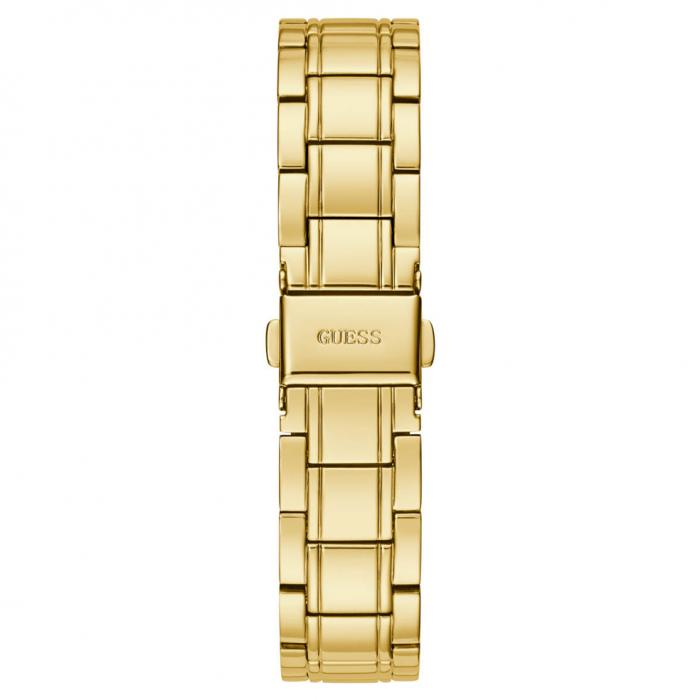 SKU-53884 / GUESS Clear Cut Gold Stainless Steel Bracelet