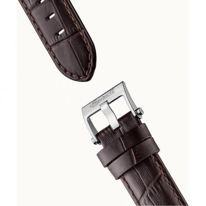 SKU-53008 / INGERSOLL Baldwin Automatic Brown Leather Strap
