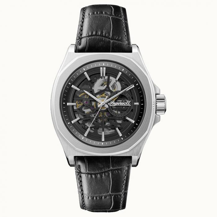 SKU-53009 / INGERSOLL Orville Automatic Black Leather Strap