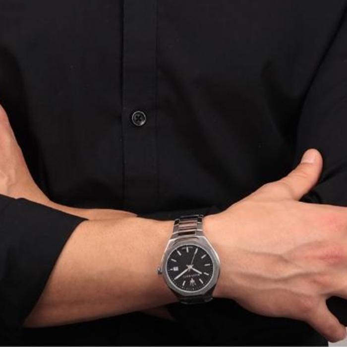 MASERATI Stile Stainless Steel Bracelet