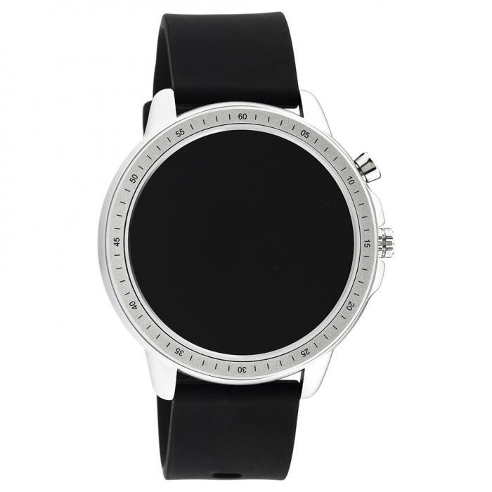 OOZOO Smartwatch Black Rubber Strap