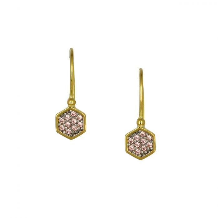 SKU-53602 / Σκουλαρίκια Κρεμαστά Χρυσός Κ9