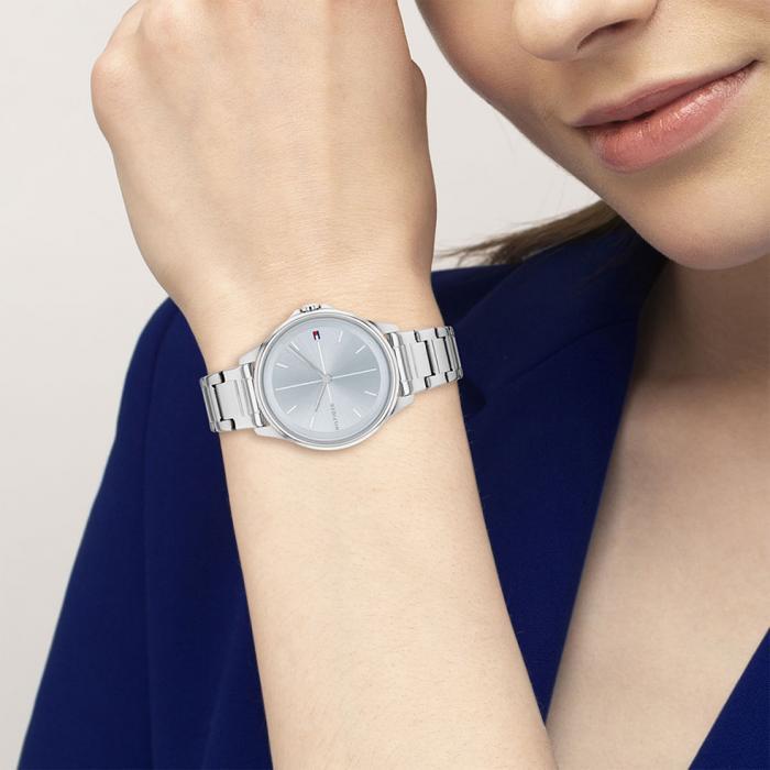 SKU-53230 / TOMMY HILFIGER Delphine Silver Stainless Steel Bracelet