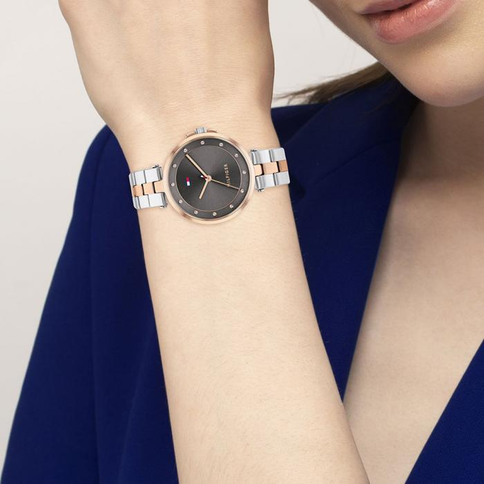 TOMMY HILFIGER Cami Two Tone Stainless Steel Bracelet