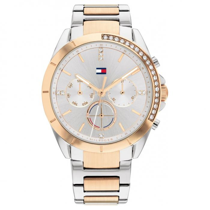 SKU-53979 / TOMMY HILFIGER Kennedy Two Tone Rose Gold Stainless Steel