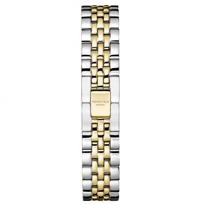 SKU-54021 / ROSEFIELD The Ace XS Two Tone Stainless Steel Bracelet