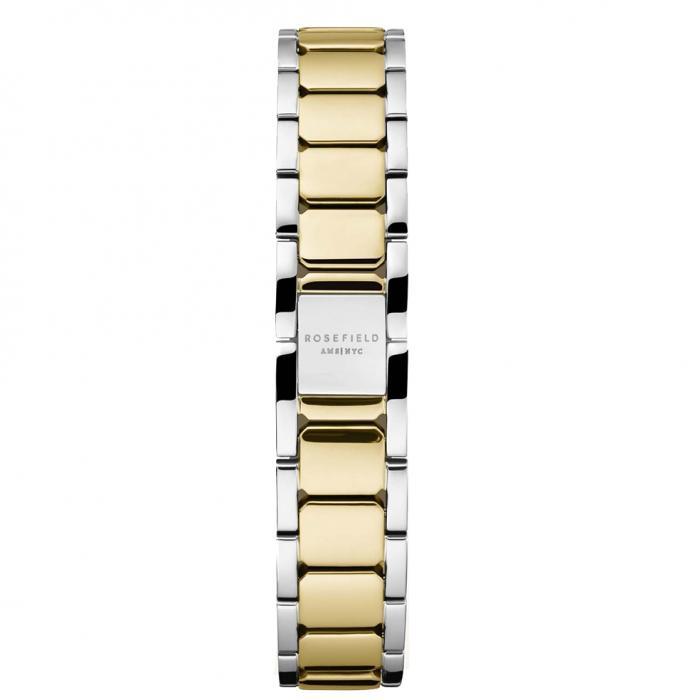 SKU-54022 / ROSEFIELD The Tribeca White Sunray Steel Gold Stainless Steel Bracelet