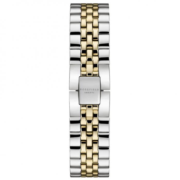 SKU-54023 / ROSEFIELD The Ace Two Tone Stainless Steel Bracelet