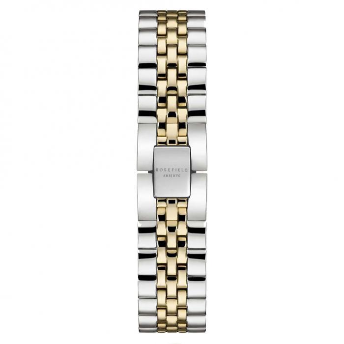 SKU-54024 / ROSEFIELD The Ace Two Tone Stainless Steel Bracelet