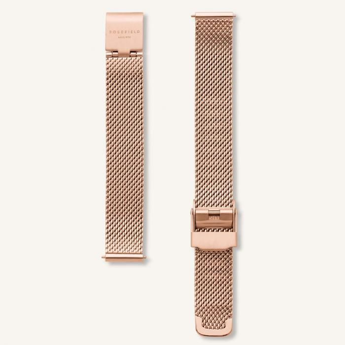 SKU-54026 / ROSEFIELD The Boxy XS Rose Gold Stainless Steel Bracelet