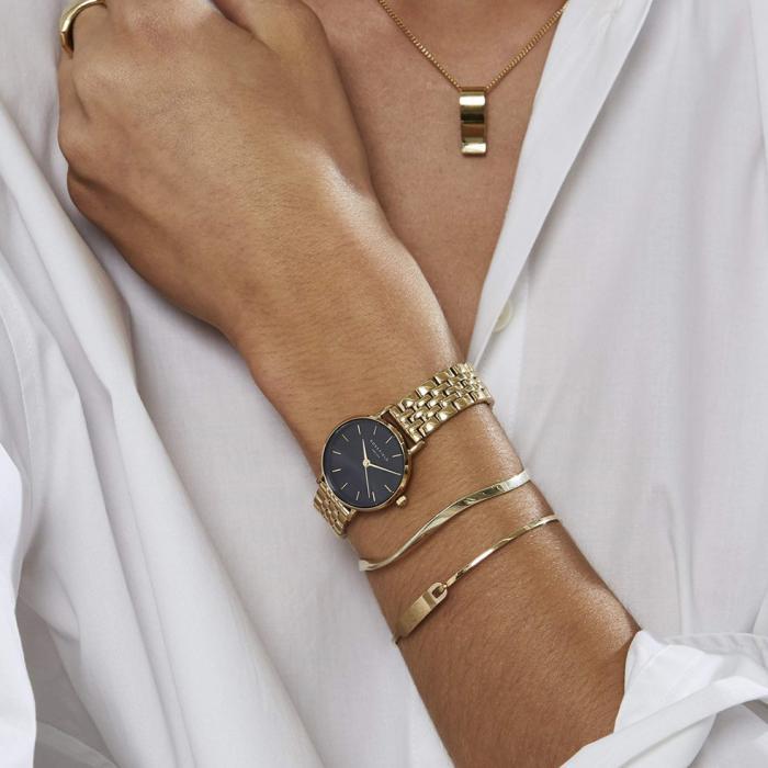 SKU-54031 / ROSEFIELD The Small Edit Gold Stainless Steel Bracelet