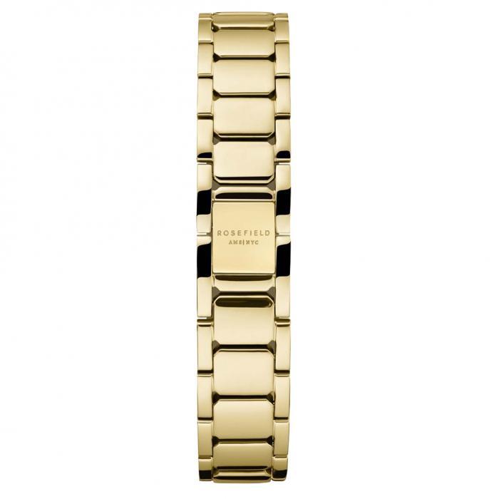 SKU-54032 / ROSEFIELD The Boxy White Sunray Steel Gold Stainless Steel Bracelet