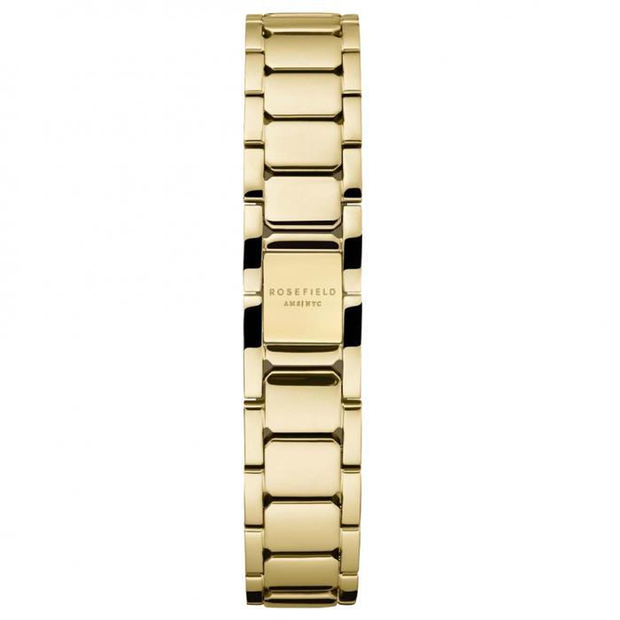 SKU-54033 / ROSEFIELD The Tribeca White Sunray Steel Gold Stainless Steel Bracelet